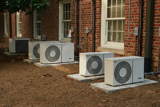 klimatizace u domu