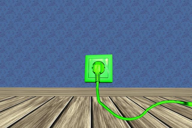 zelená zásuvka