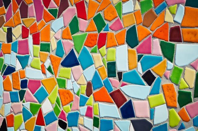 mozaika z dlaždic